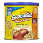 Gerber - Finger Foods Fruit Wagon Wheels 0015000045111  / UPC 015000045111