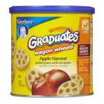 Gerber -  Finger Foods Fruit Wagon Wheels 0015000045111