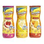 Gerber -  Graduates Apple Strawberry Banana Sweet Potato Puffs 0015000045487