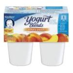 Gerber - Baby Food Yogurt Peach 0015000047665  / UPC 015000047665