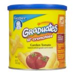 Gerber -  Graduates Lil' Crunchies Garden Tomato 0015000048327