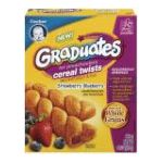 Gerber - Baby Food Cereal Twists Strawberry Blueberry 0015000048570  / UPC 015000048570