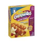 Gerber - Cereal Twists 0015000048587  / UPC 015000048587