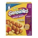Gerber -  Baby Food Cereal Twists Banana Peach 0015000048594