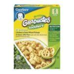 Gerber -  Graduates Lil' Entrees Chicken & Pasta Wheels Pick-ups Boxes 0015000048709