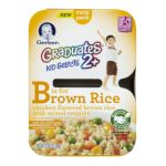 Gerber -  Graduates Kid Selects B Is For Brown Rice Brown Rice & Mixed Vegetables 0015000048921