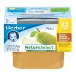 Gerber -  1st Foods Pears 0015000071349