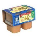 Gerber -  Food Baby Food Pears 0015000075323