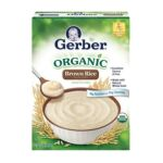Gerber - Cereal For Baby Organic Whole Grain Rice 0015000125042  / UPC 015000125042