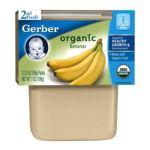Gerber -  2nd Foods Organic Bananas 0015000127015