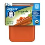 Gerber - 2nd Foods Organic Carrots 0015000127060  / UPC 015000127060