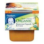 Gerber -  Butternut Squash & Corn 0015000127091