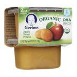 Gerber -  2nd Foods Organic Apple Sweet Potato 0015000127565