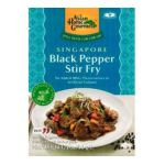 Asian home - Singapore Black Pepper Stir Fry Boxes 0015205364734  / UPC 015205364734