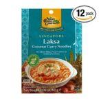 Asian home -  Singapore Laksa Coconut Curry Noodle Soup Mix Pouch 0015205380031