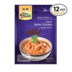 Asian home - Indian Spice Butter Chicken Paste Pouch 0015205780336  / UPC 015205780336