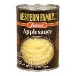 Western family -  Apple Sauce 0015400012072