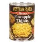 Western family -  Pineapple 0015400012218