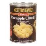 Western family -  Pineapple 0015400013031