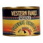 Western family -  Chiles Whole Fancy Green 0015400015530
