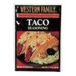 Western family -  Seasoning Mix 0015400020398