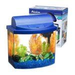 All glass aquarium -  Mini Bow Desktop Kit Blue 0015905012041