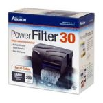 All glass aquarium - Aqueon Power Filter 30 0015905060820  / UPC 015905060820