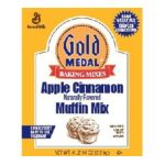 General Mills -  Gold Medal Apple Cinnamon Muffin Mix Box 4 lb 0016000114449