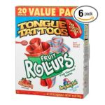 General Mills -  Fruit Roll-ups Fruit Flavored Snacks Variety Pack Strawberry & Berry Berry Cool 0016000127098