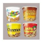 General Mills -  Lucky Charms Cereal Single-serve Cup 6 Pack 0016000138995