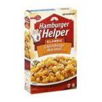 Hamburger Helper - Cheeseburger Macaroni 0016000139251  / UPC 016000139251