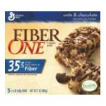 Fiber One - Cereal Bars Chewy Oats & Chocolate 0016000143449  / UPC 016000143449