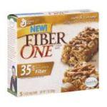 Fiber One - Fiber One Chewy Bars Oats & Caramel Boxes 0016000159334  / UPC 016000159334