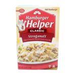Hamburger Helper - Pasta & Creamy Sauce Mix Stroganoff 0016000159754  / UPC 016000159754