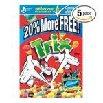General Mills -  Cereal 20% More Bonus Pack Boxes 0016000161832