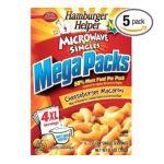 Hamburger Helper - Microwave Singles 0016000165496  / UPC 016000165496