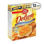Betty Crocker - Deluxe Cheesy Cheddar Au Gratin Potatoes Boxes 0016000167902  / UPC 016000167902