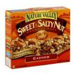 Nature Valley - Granola Bars Sweet & Salty Nut Cashew 0016000168930  / UPC 016000168930