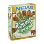 General Mills -  Flavored Snacks Mini Rolls Wildberry Punch 0016000173149