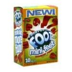 General Mills -  Fruit Flavored Snacks Mini Feet Boomberry Punch 0016000173750