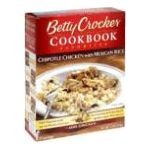 Betty Crocker - Chipotle Chicken With Mexican Rice 0016000180468  / UPC 016000180468