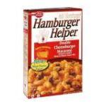 Hamburger Helper - Skillet Meal Double Cheeseburger Macaroni 0016000193796  / UPC 016000193796