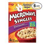 Hamburger Helper - Microwave Singles 0016000193840  / UPC 016000193840