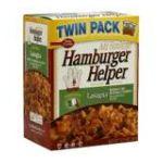 Hamburger Helper - Hamburger Helper Twin Pack Lasagna 0016000194335  / UPC 016000194335