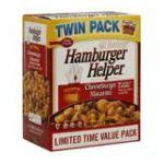 Hamburger Helper - Cheeseburger Macaroni 0016000197473  / UPC 016000197473