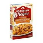 Hamburger Helper - Double Cheeseburger Macaroni Classic 0016000263697  / UPC 016000263697