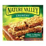 Nature Valley - Crunchy Granola Bars Oats 'n Honey 0016000264601  / UPC 016000264601