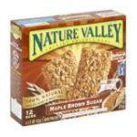 Nature Valley - Nature Valley Crunchy Granola Bars Maple Brown Sugar 1 box,12 bars 0016000265905  / UPC 016000265905