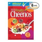 Cheerios - General Mills Fruity Cereal 0016000275546  / UPC 016000275546