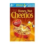 Cheerios - Cereal Honey Nut 0016000275713  / UPC 016000275713